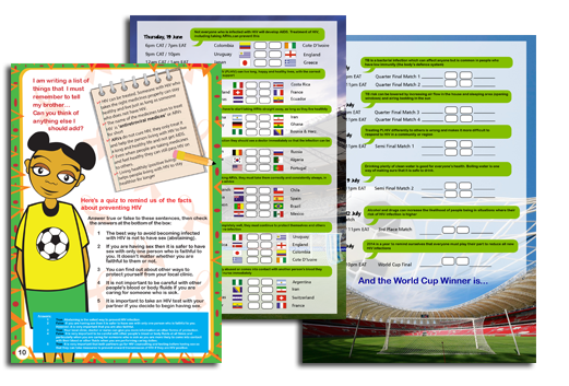 2014 – Africa Goal Booklet (Child Version)